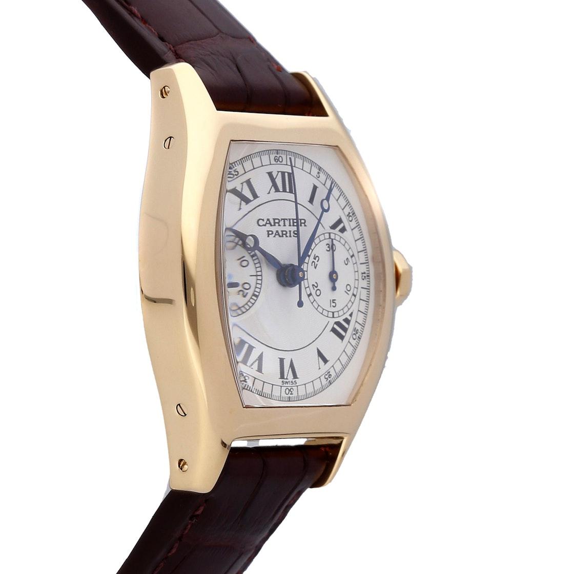 Cartier Tortue Monopusher Chronograph W1525751