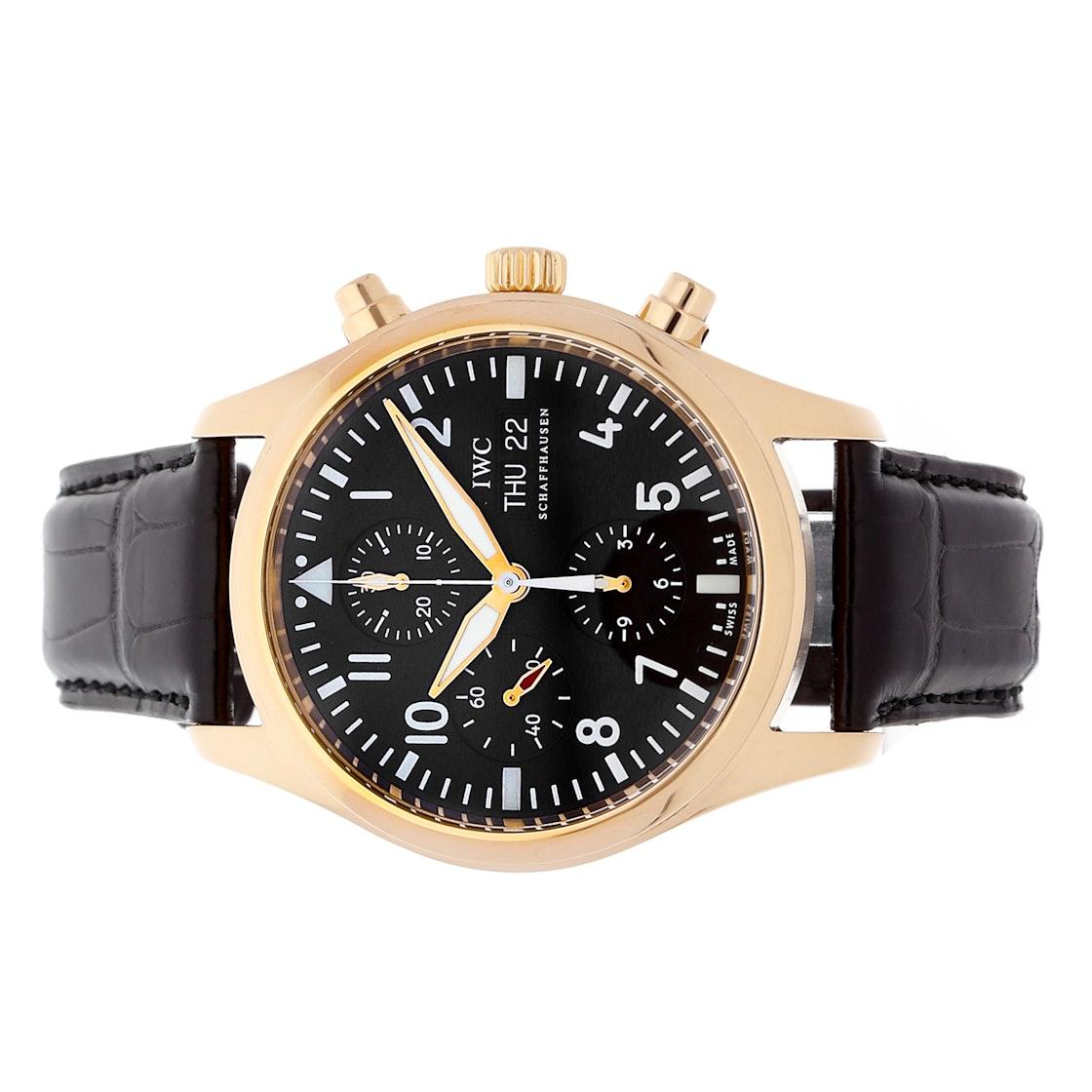IWC Pilot's Watch Chronograph IW3717-13