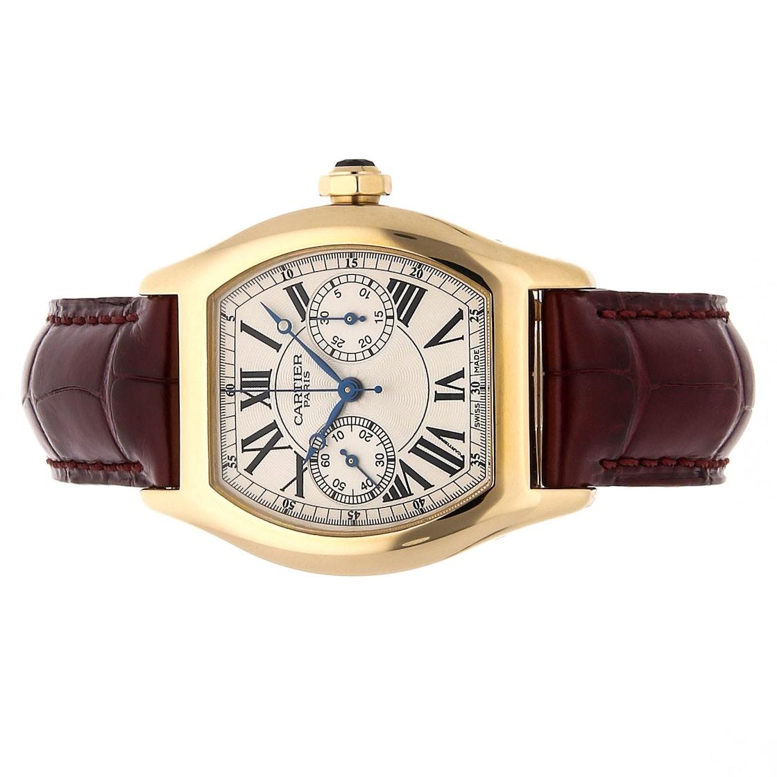 Cartier Tortue Monopoussoir W1543551