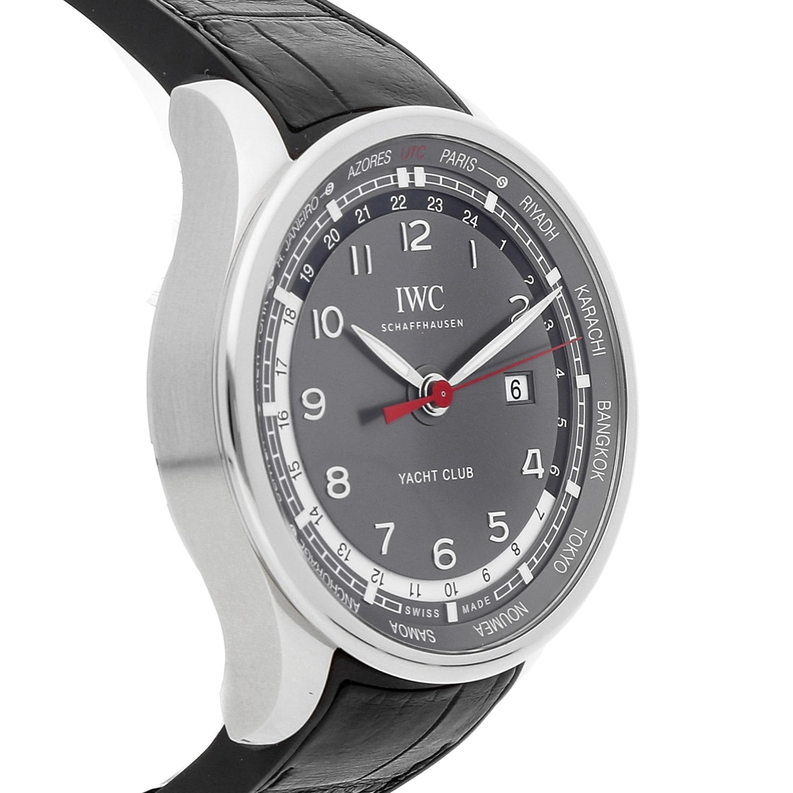 newest 37995 5a6e7 IWC Portuguese Yacht Club Worldtimer Limited Edition IW3266-02
