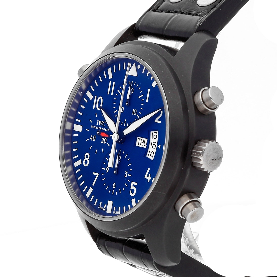 IWC Pilot's Top Gun Carlson Double Chronograph Limited Edition IW3799-04