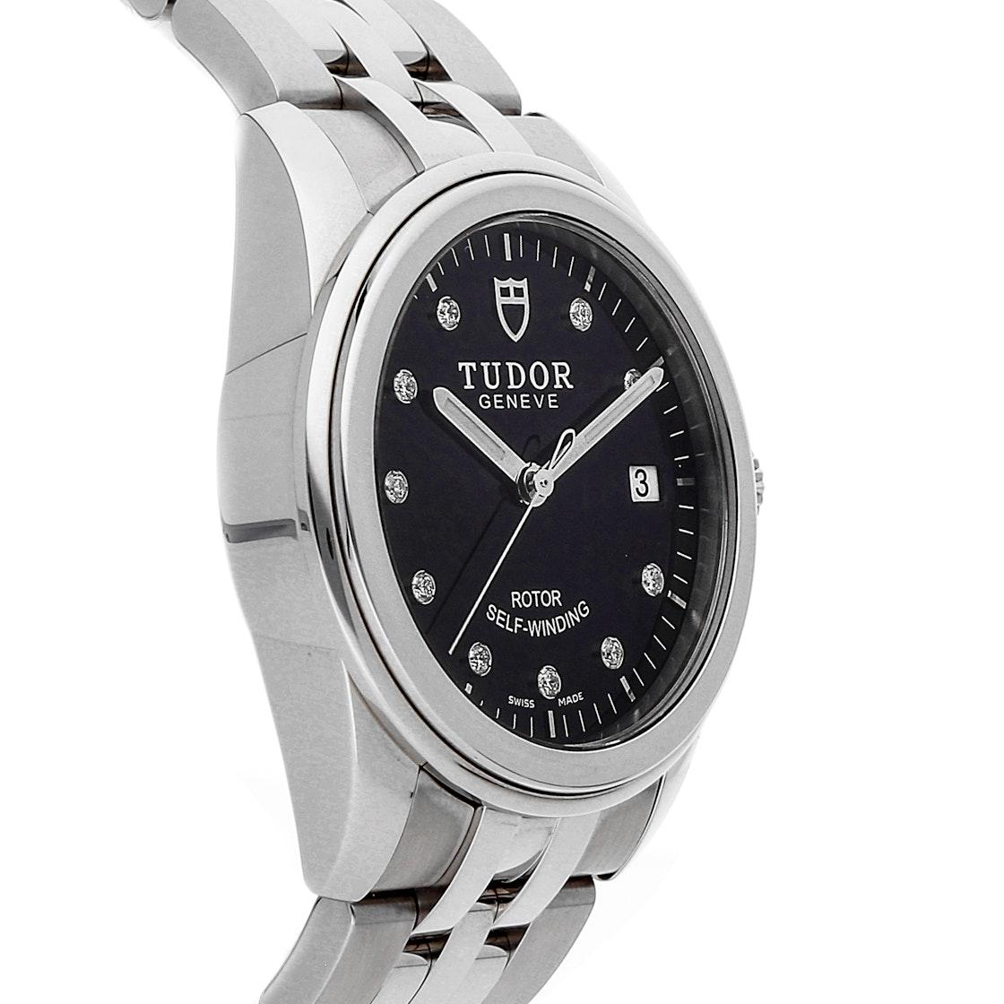 Tudor Glamour Date 55010N