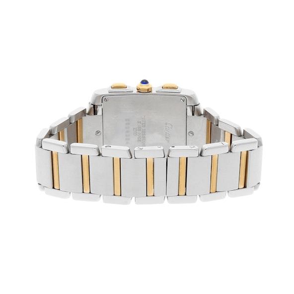 Cartier Tank Francaise Chronograph W51004Q4