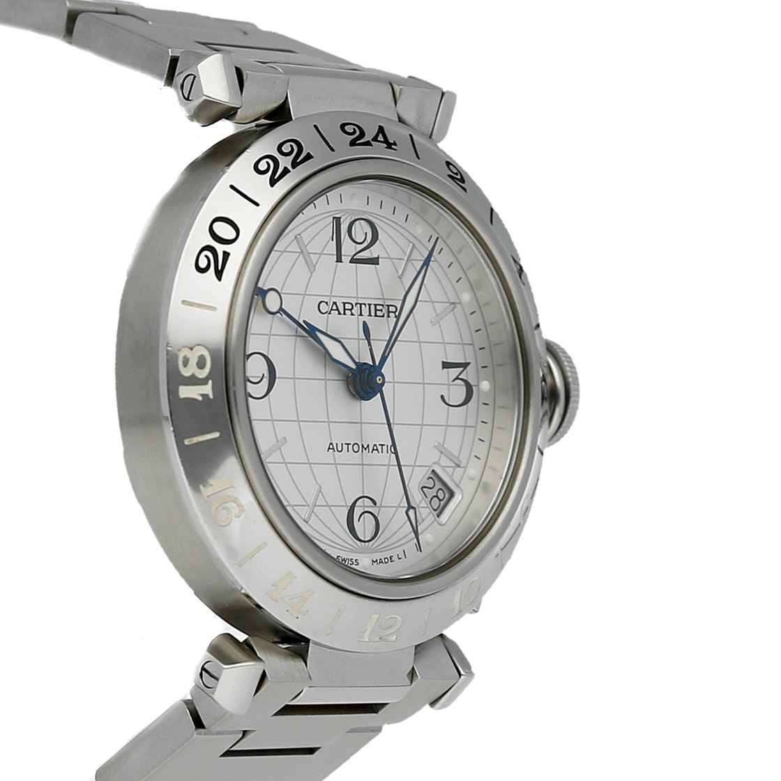 Cartier Pasha GMT W31078M7