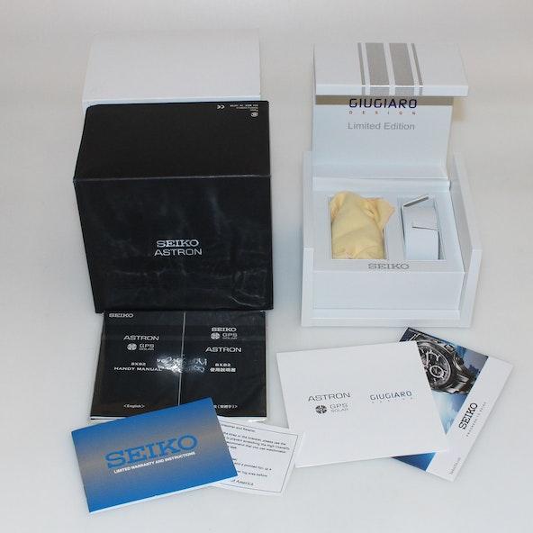 Seiko Astron GPS Solar Chronograph Giugiaro Limited Edition SSE037