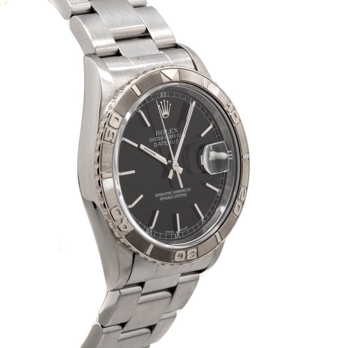 Rolex Datejust Thunderbird Turnograph 162644