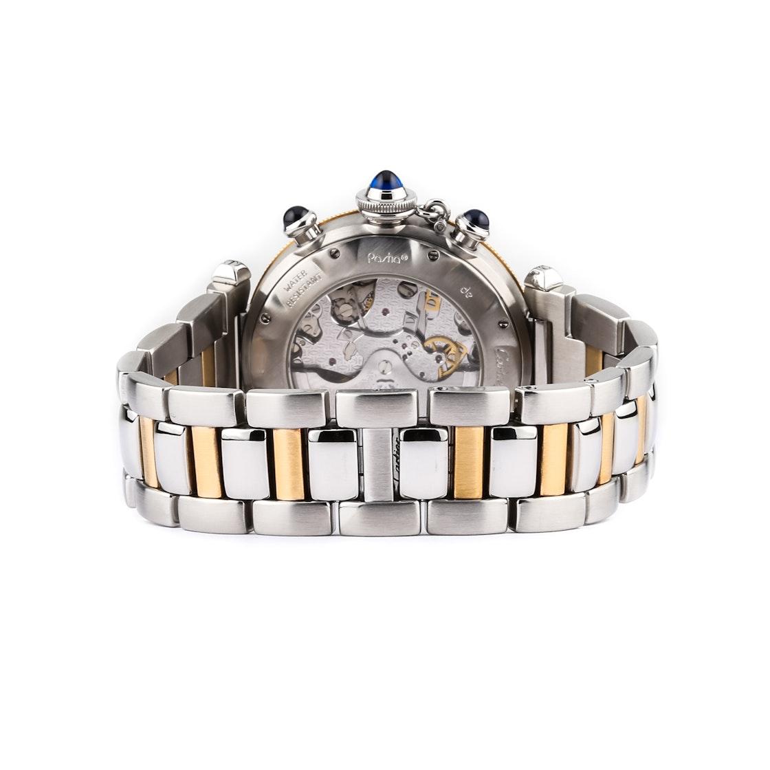 Cartier Pasha Chronograph W31036T6
