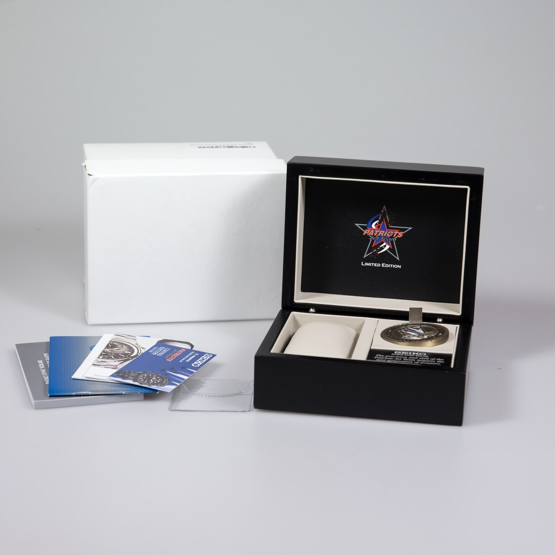 Seiko Prospex Radio Sync Solar Patriots Jet Team Limited Edition SG007