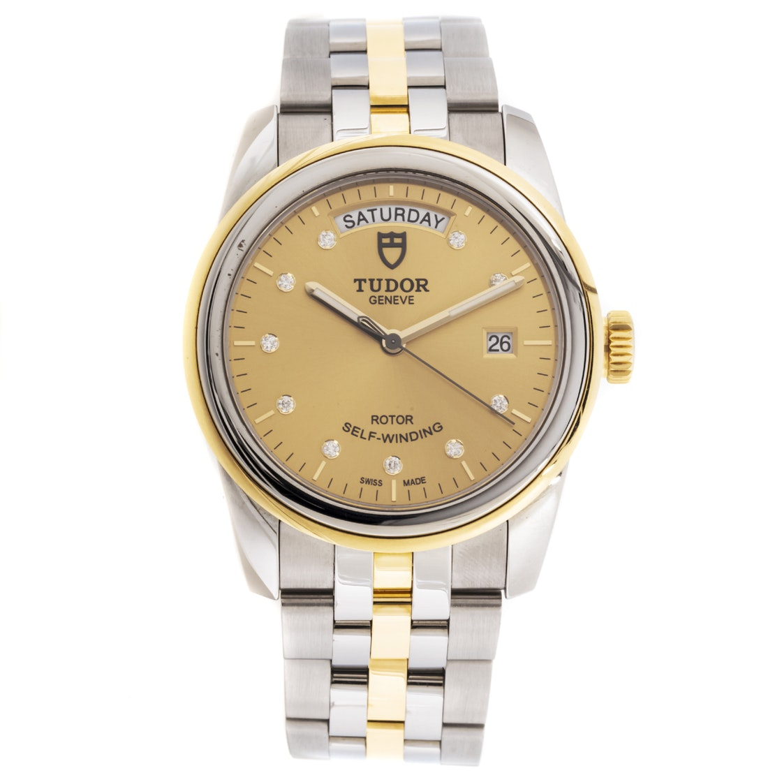 Tudor Glamour Day Date T560033
