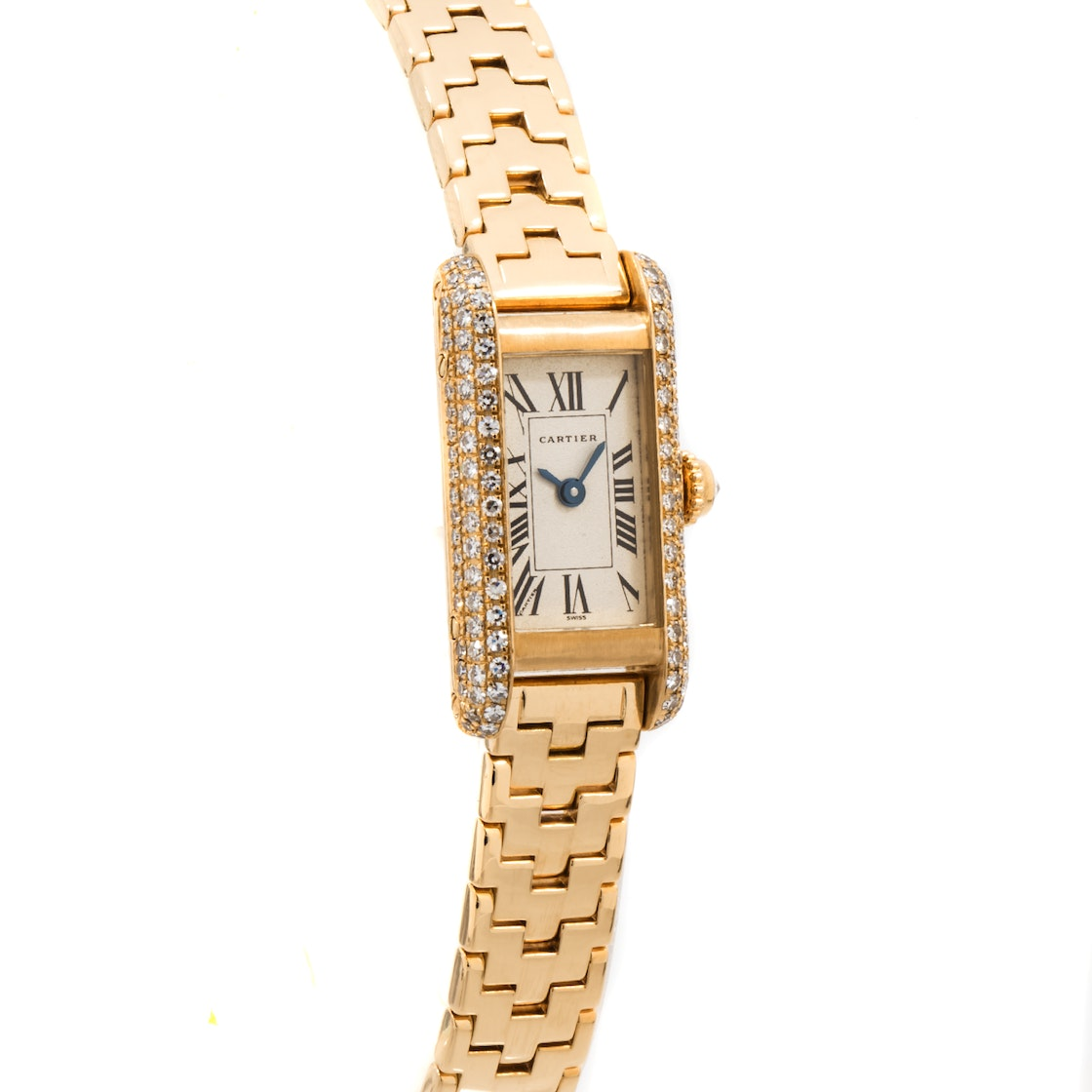 Cartier Tank Americaine WB3001J3