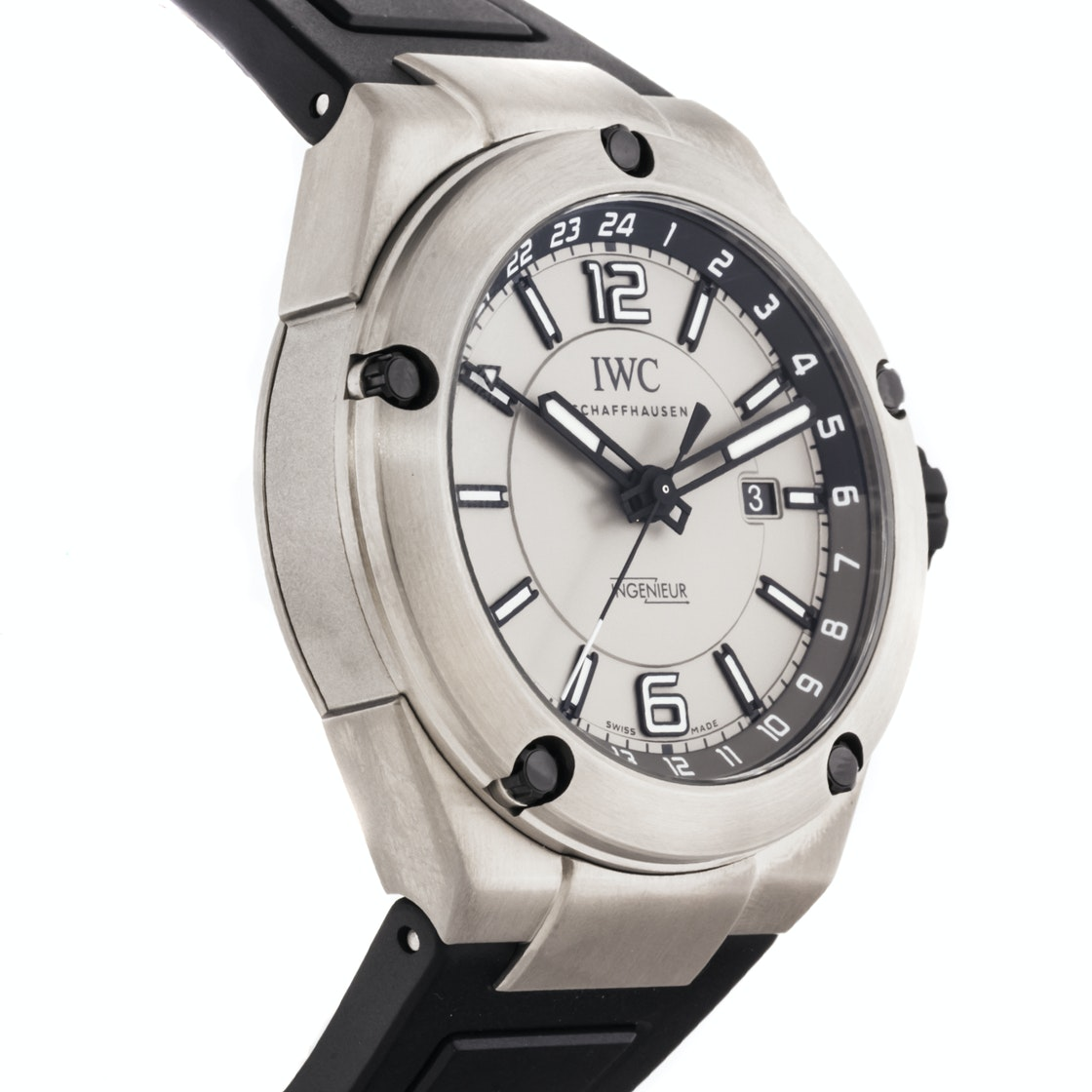 IWC Ingenieur Dual Time IW3264-03