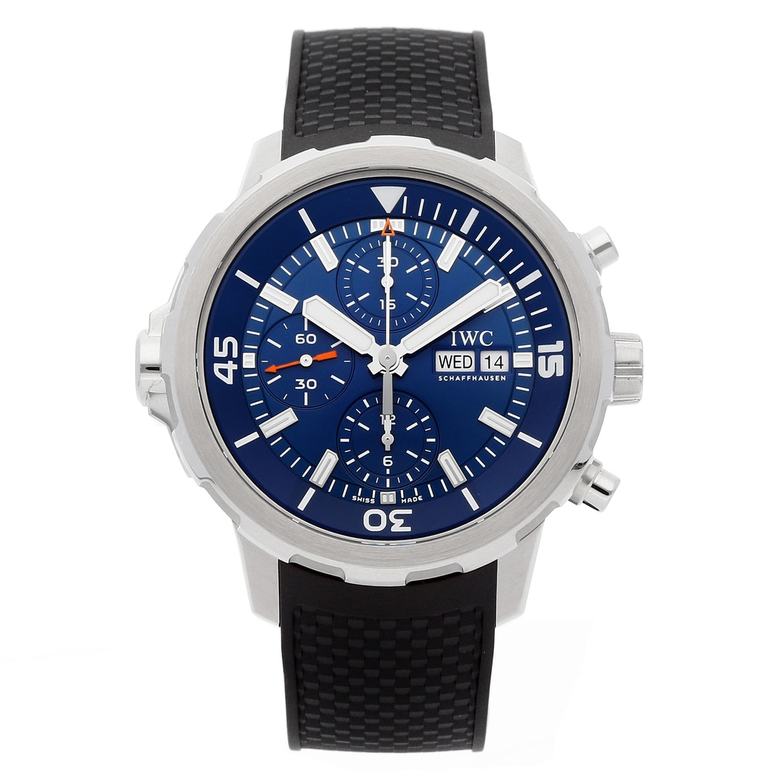 """IWC Aquatimer Chronograph """"Expedition Jacques-Yves Cousteau 2014"""" Edition IW3768-05"""