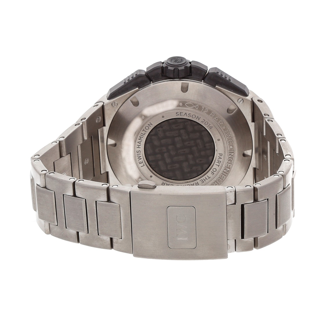 IWC Ingenieur Chronograph Lewis Hamilton Edition IW3796-02