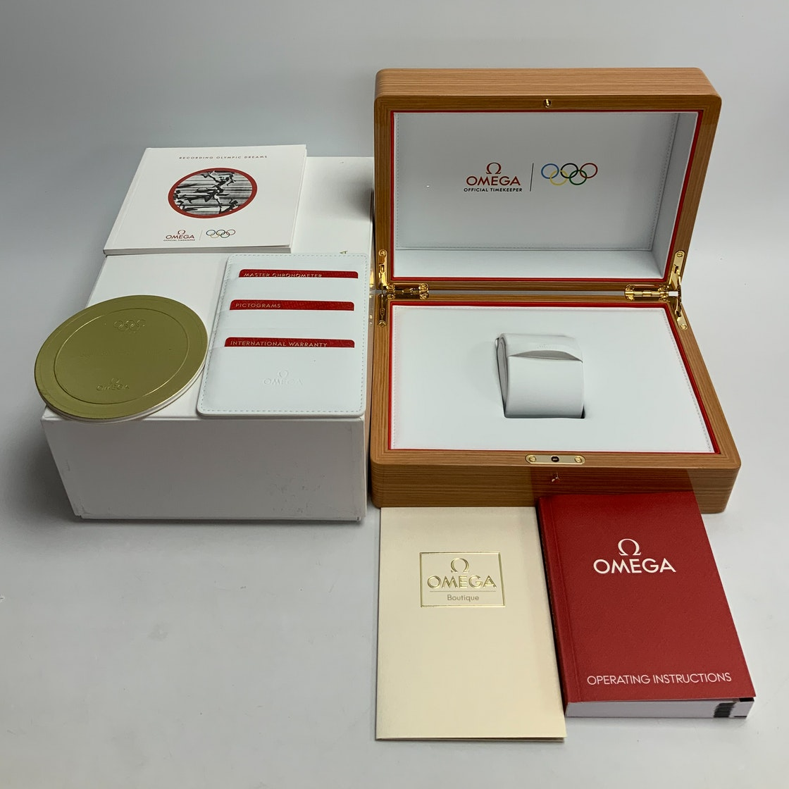 Omega Seamaster Olympic Games Gold Collection Official Timekeeper 522.53.40.20.04.001