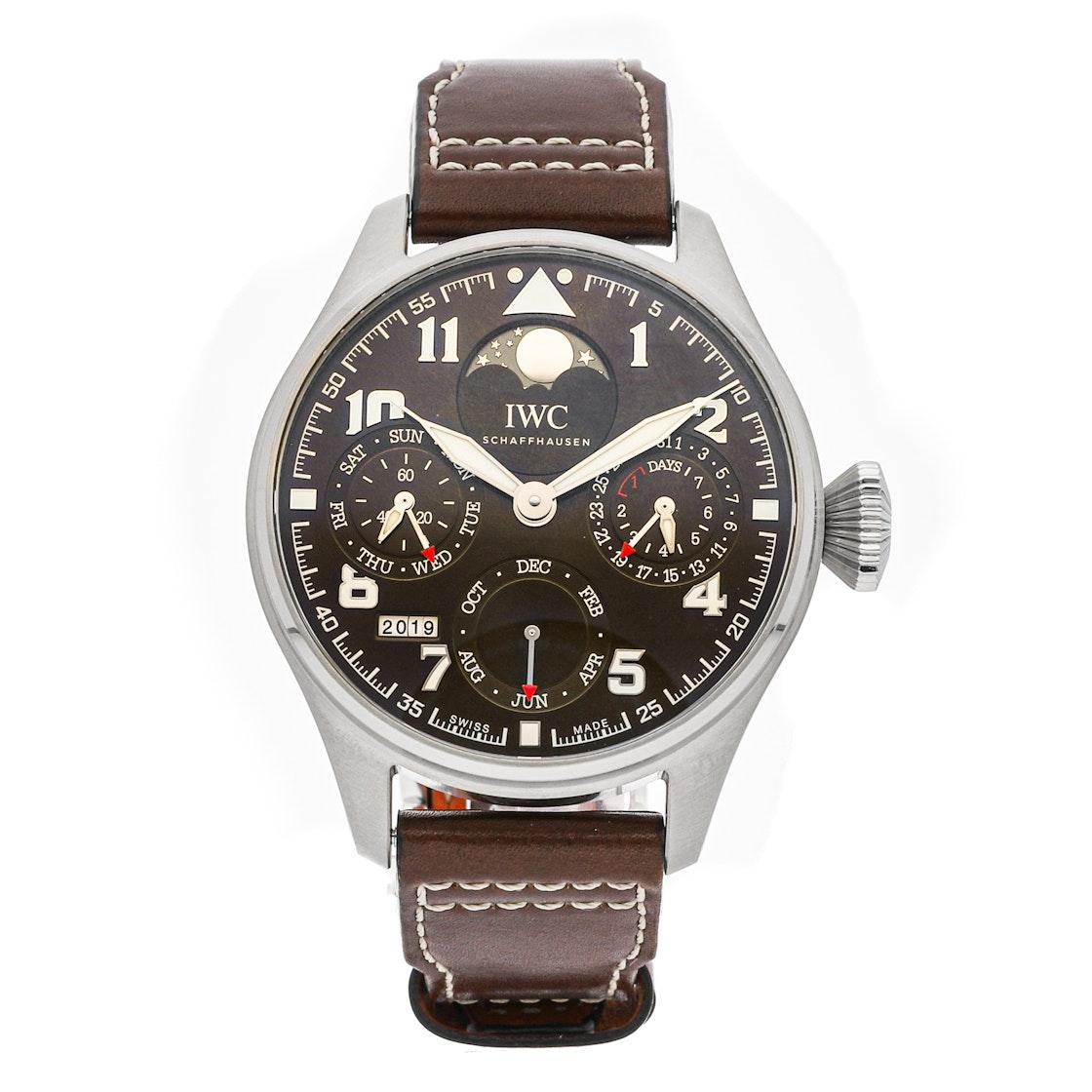 "IWC Big Pilot's Watch Perpetual Calendar ""Antoine De Saint Exupery"" Limited Edition IW5038-01"