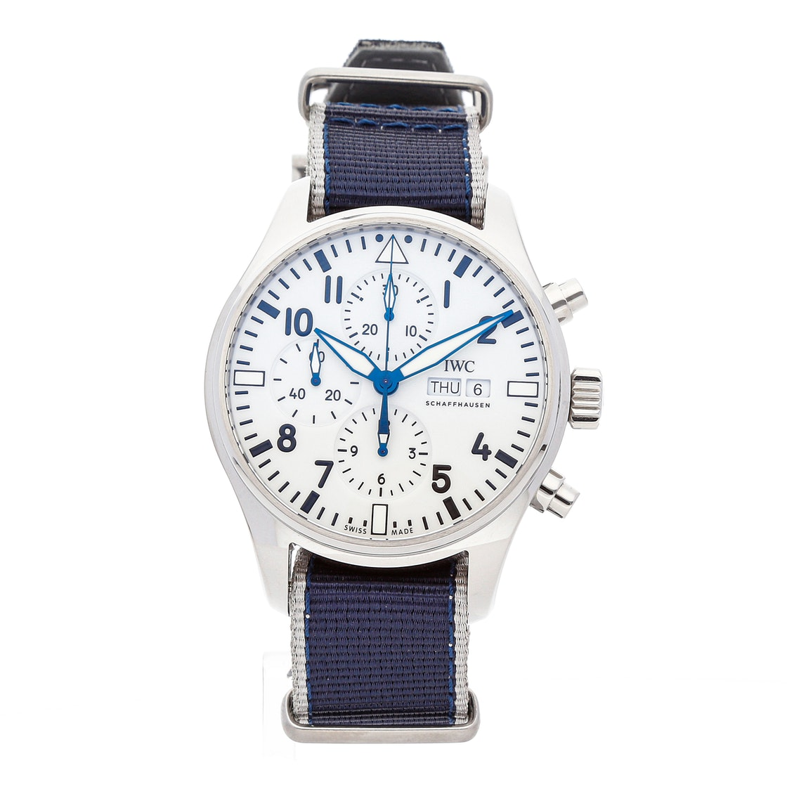 IWC Pilot's Chronograph Edition 150 Years W3777-25