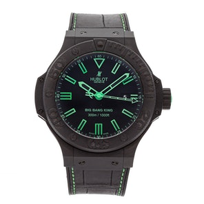Hublot Big Bang King All Black Green 322.CI.1190.GR.ABG11