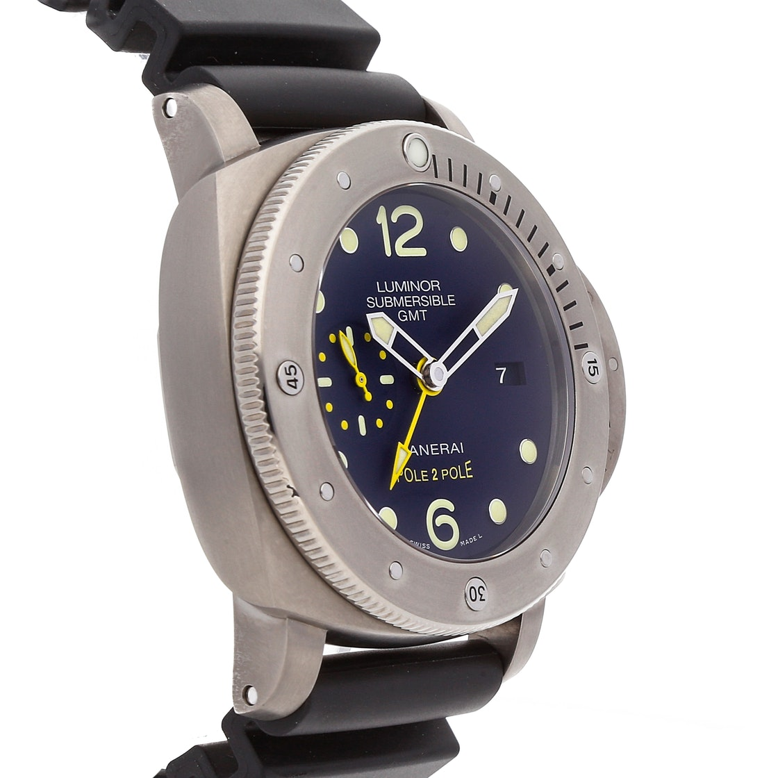 Panerai Luminor Submersible 1950 3-Days GMT Titanio PAM 719