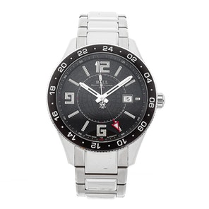 Ball Watch Company Engineer Master II Pilot GMT GM3090C-SAJ-BK