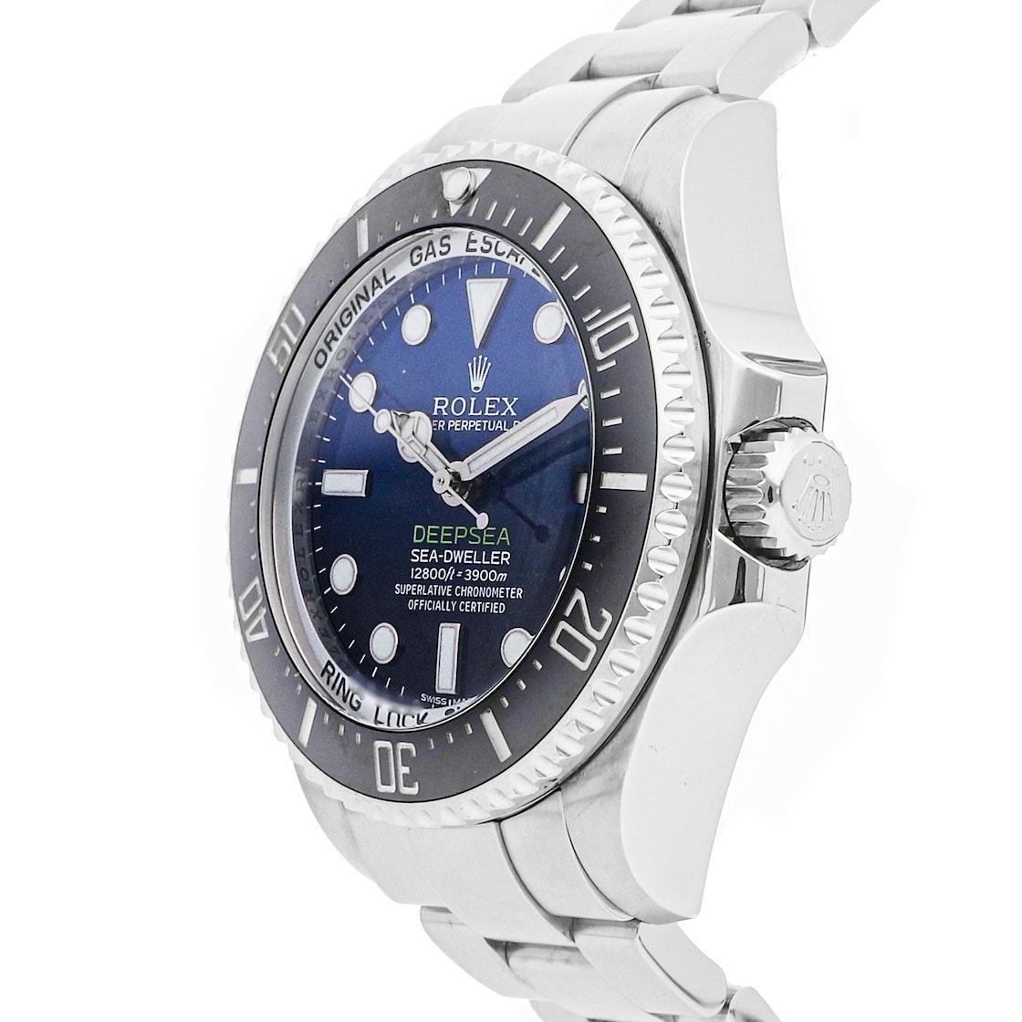 "Rolex Deepsea Sea-Dweller ""Deep Blue"" 116660"