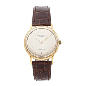 "Patek Philippe Vintage Calatrava ""Tiffany & Co."" 3416/1"