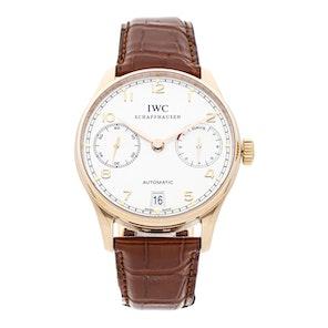 IWC Portuguese 7 Day IW5001-01