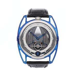 De Bethune DB28 Blue Titanium DB28TIS5
