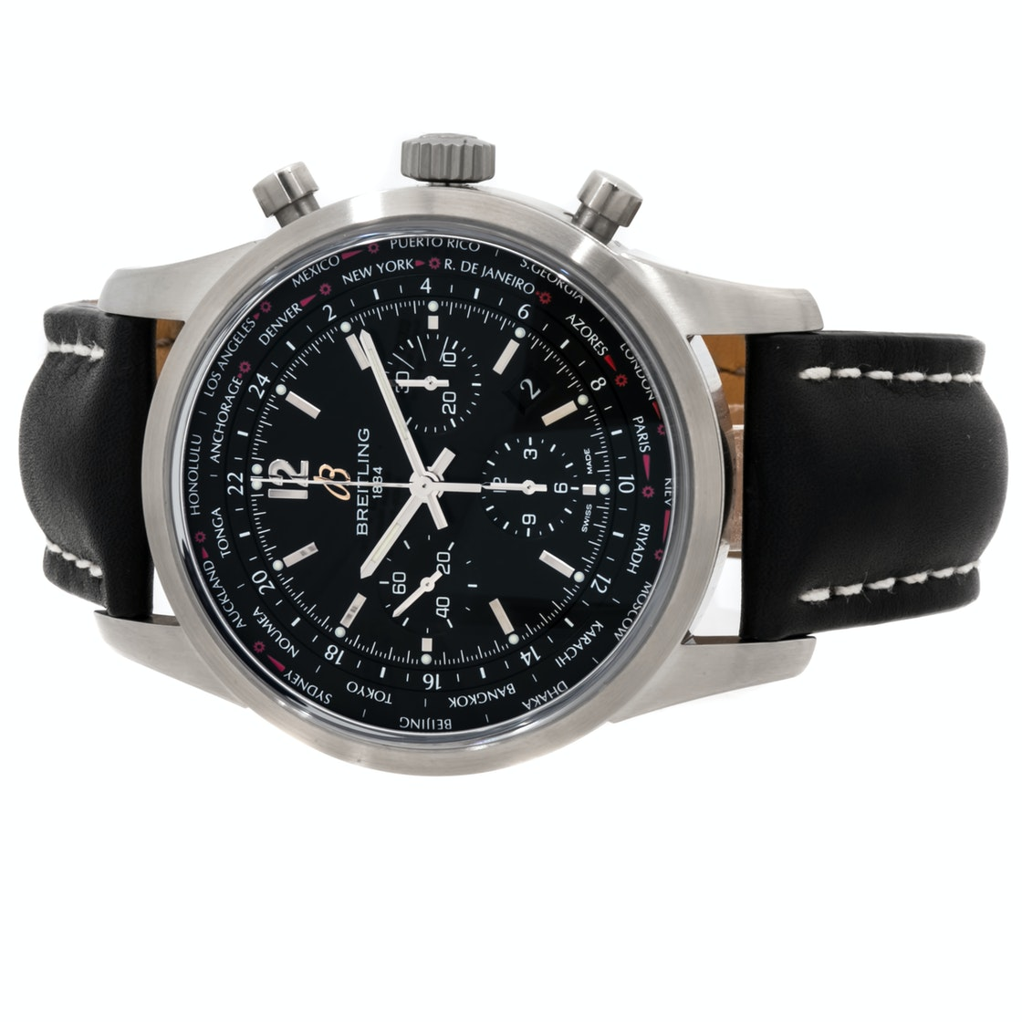 Breitling Transocean Unitime Chronograph Pilot AB0510U6/BC26