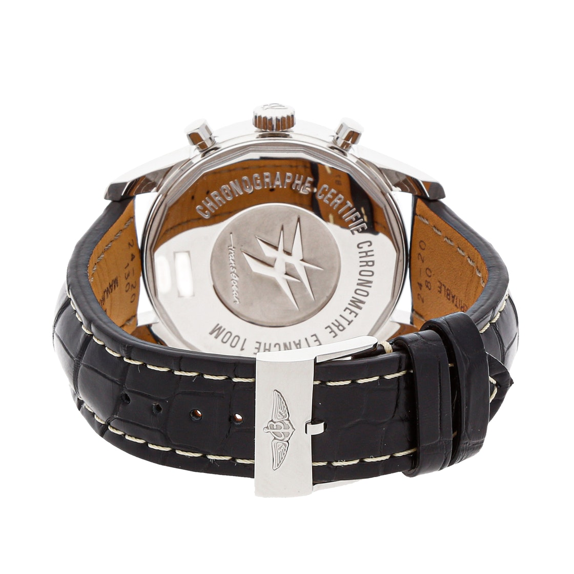 Breitling Transocean Chronograph Unitime AB0510U4/BE84