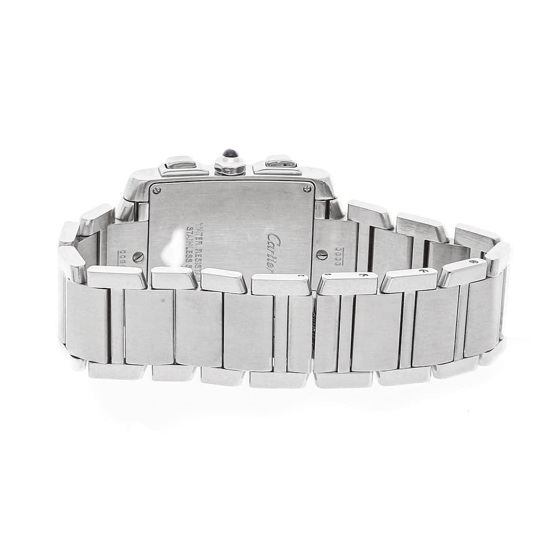 Cartier Tank Francaise Chronoflex W51001Q3