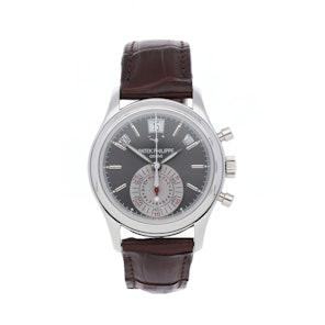 Patek Philippe Complications Annual Calendar Chronograph 5960P-001