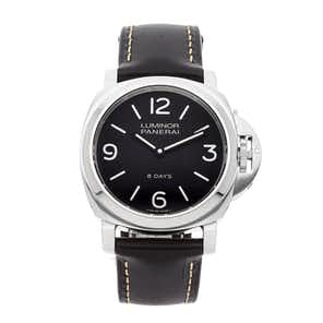 Panerai Luminor Base 8-Days Acciaio PAM 560