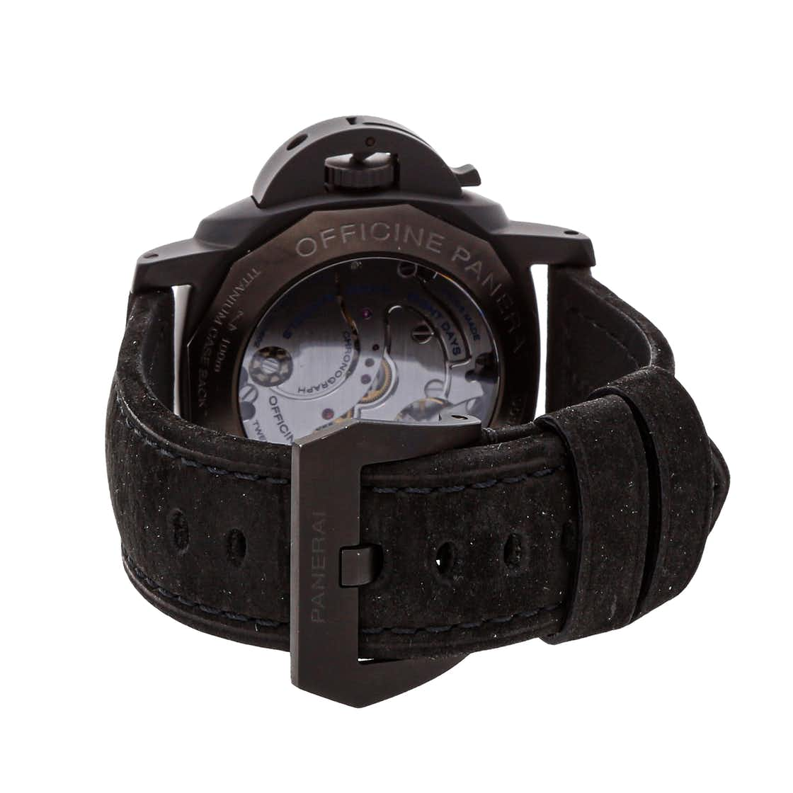 "Panerai Luminor 1950 Moonpulsante GMT 8-Days ""The Black Night"" Limited Edition PAM 317"