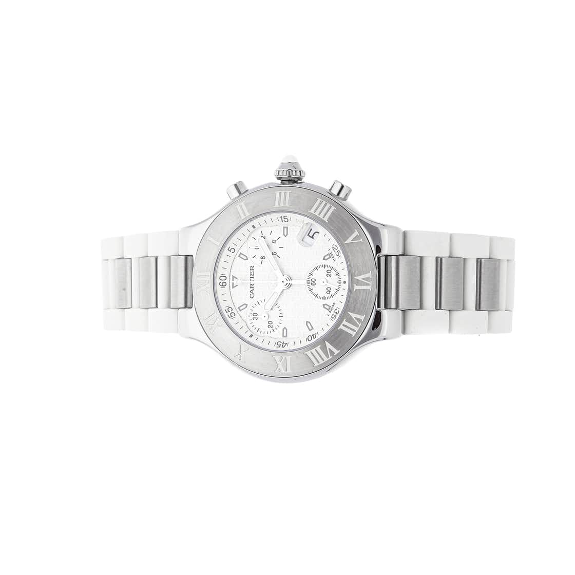 Cartier Must 21 Chronoscaph W10184U2