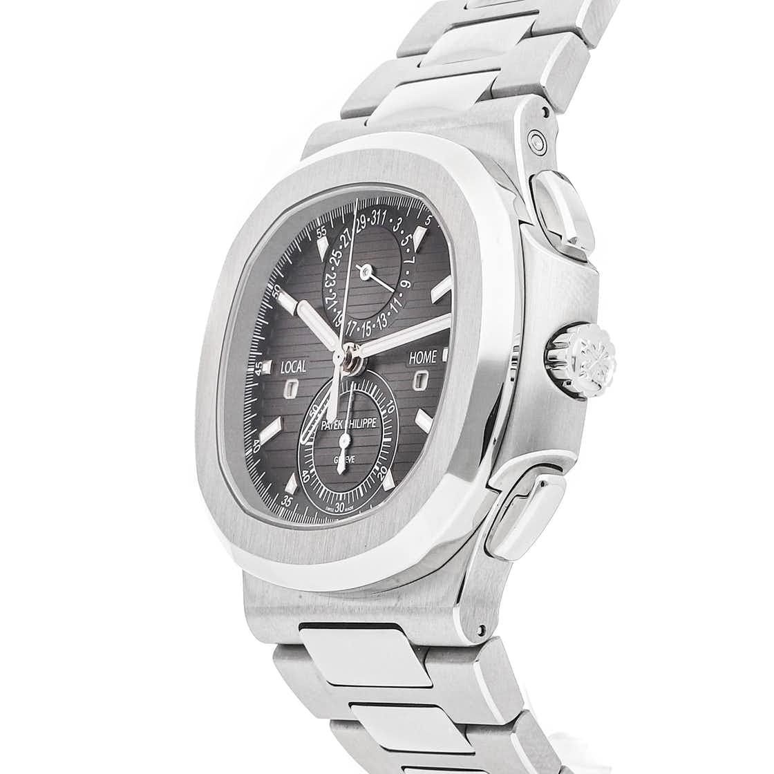 Patek Philippe Complications Nautilus Travel Time Chronograph 5990/1A-001