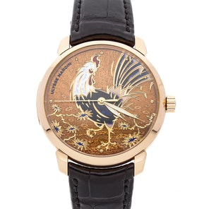 Ulysse Nardin Classico Rooster Limited Edition 8152-111-2/ROOST
