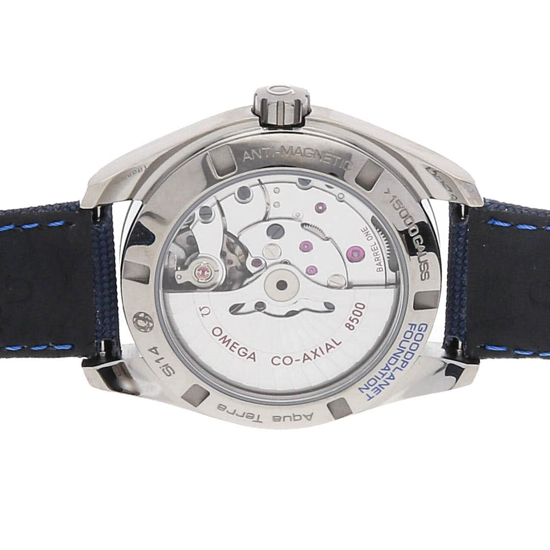Omega Seamaster Aqua Terra 150m GMT Good Planet 231.92.39.21.04.001