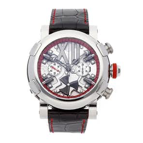 Romain Jerome Titanic-DNA Steampunk Chronograph Red Limited Edition RJ.T.CH.SP.005.01