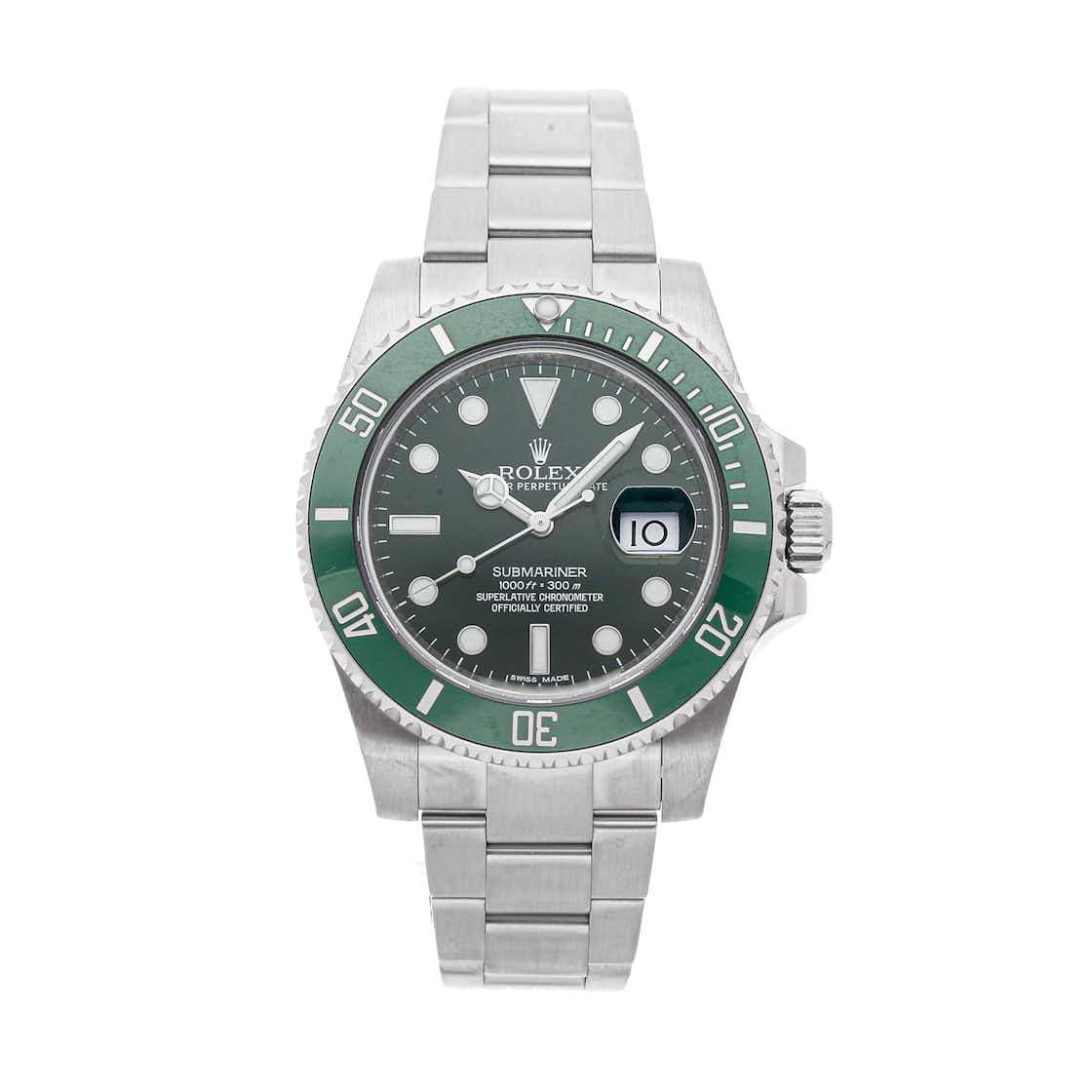 "Rolex Submariner ""Hulk"" 116610LV"
