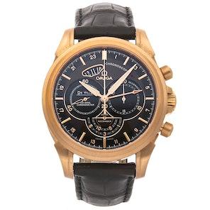 Omega De Ville Chronoscope Co-Axial GMT Chronograph 422.53.44.52.13.001