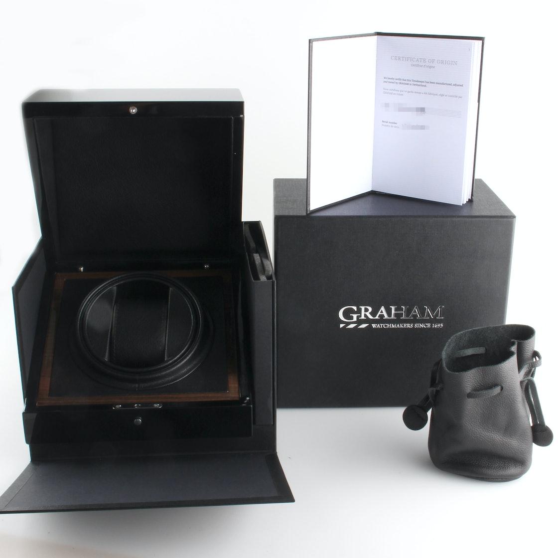 Graham Silverstone RS GMT 2STDC.B08B.K105S
