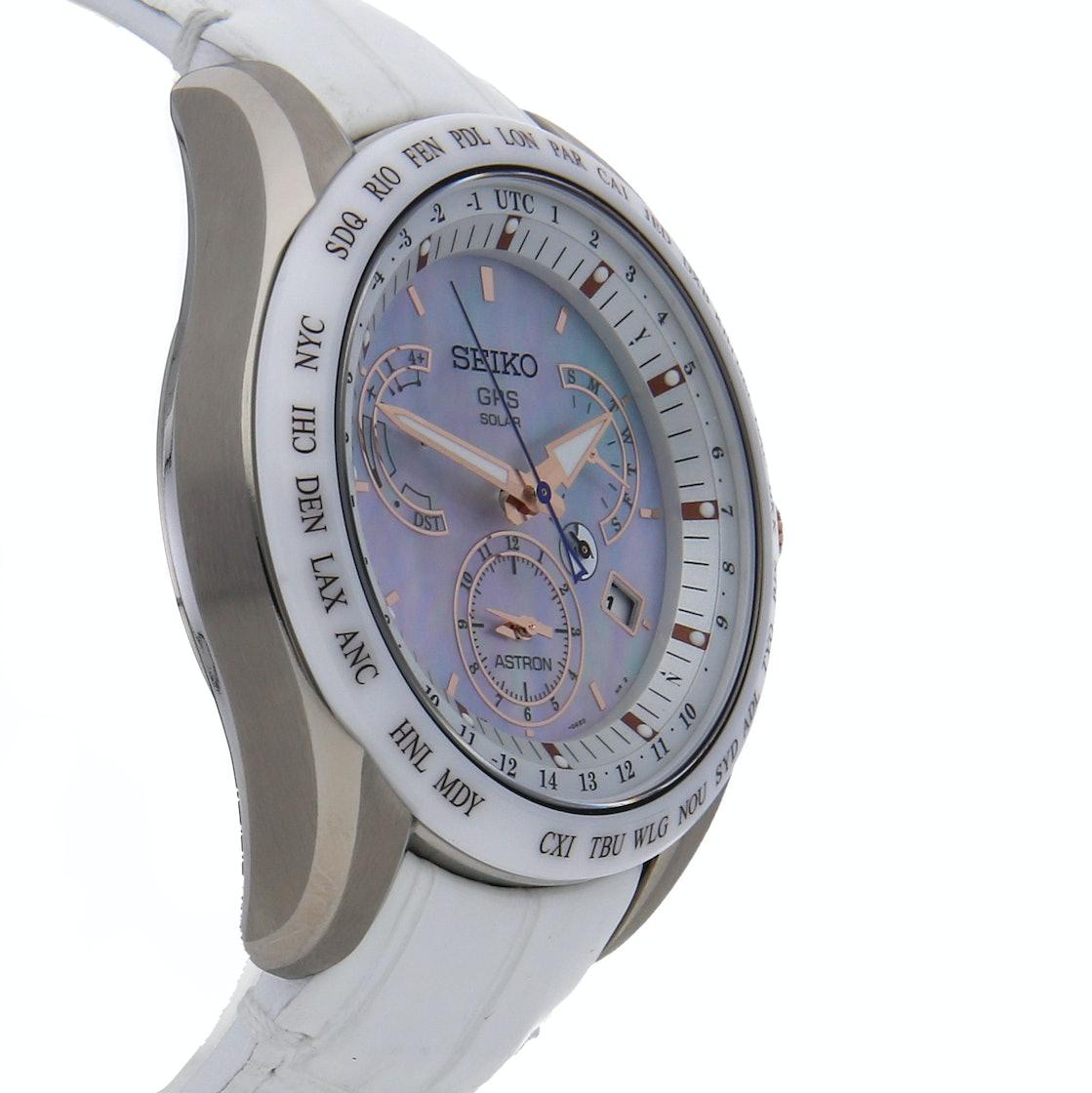 Seiko Astron GPS Solar Dual Time SSE063