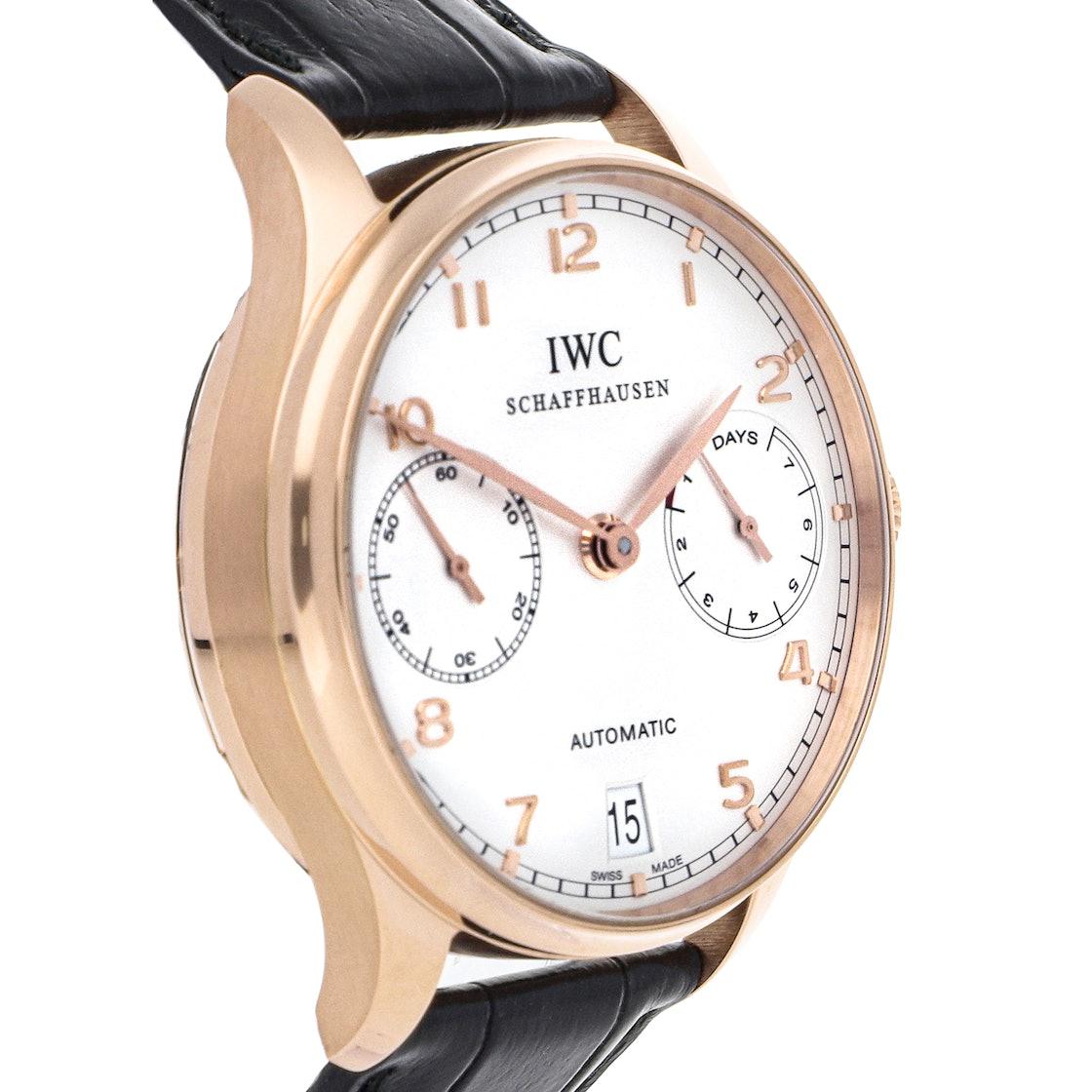 IWC Portuguese 7-Day IW5001-13