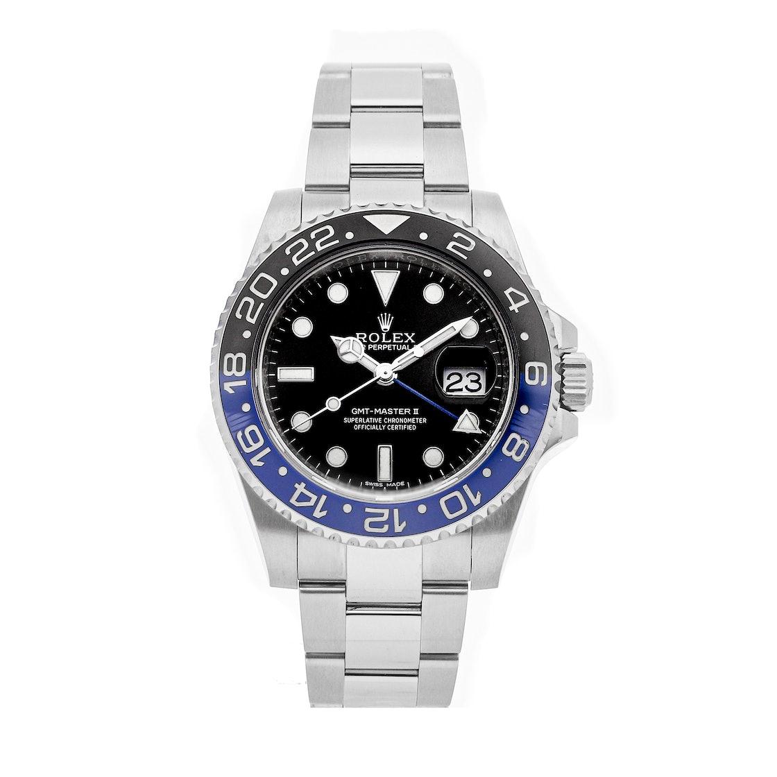 "Rolex GMT-Master II ""Batman"" 116710BLNR"
