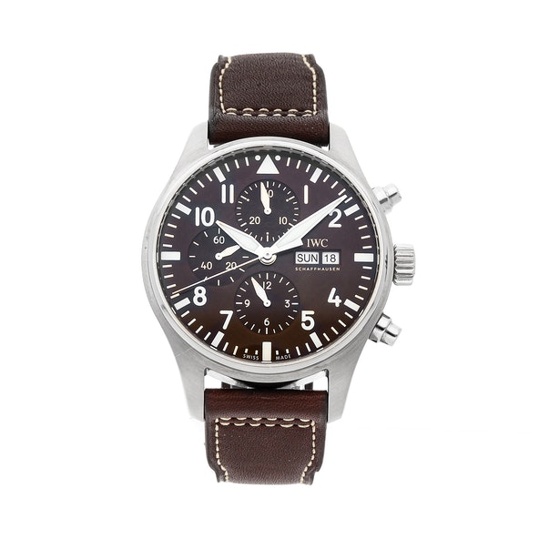 "IWC Pilot's Watch Chronograph ""Antoine De Saint Exupery"" Edition IW3777-13"