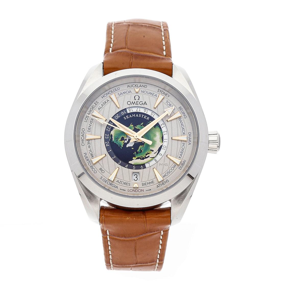 Omega Seamaster Aqua Terra 150m GMT Worldtimer 220.93.43.22.99.001