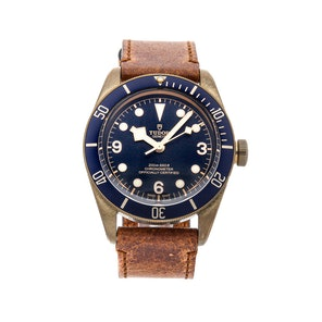 Tudor Heritage Black Bay Bronze Blue Bucherer Special Edition 79250BB