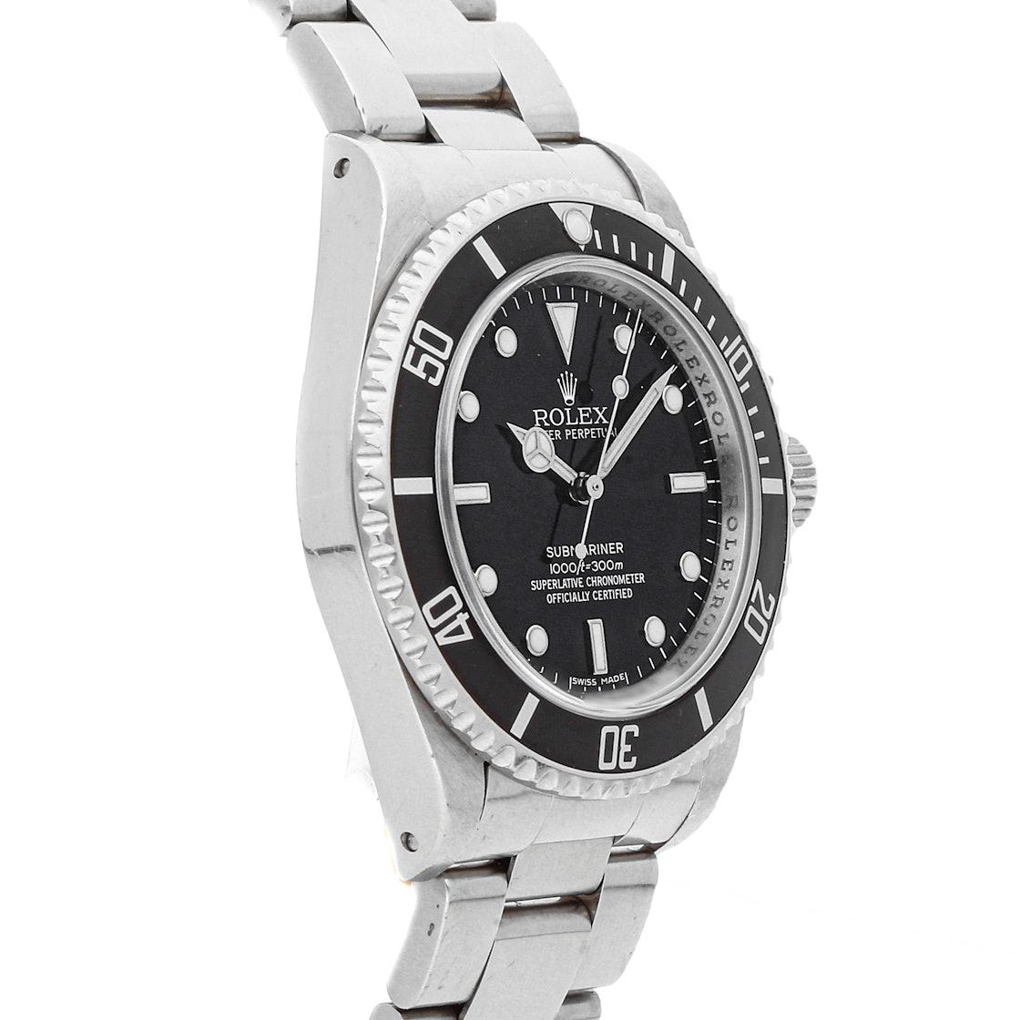 """Rolex Submariner """"No Date"""" 14060"""