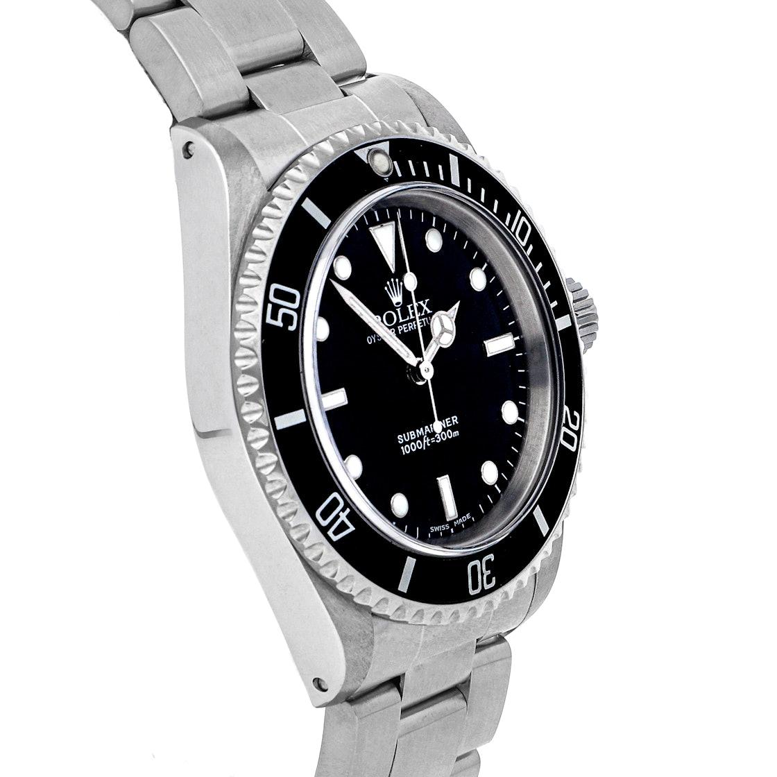 "Rolex Submariner ""No Date"" 14060M"
