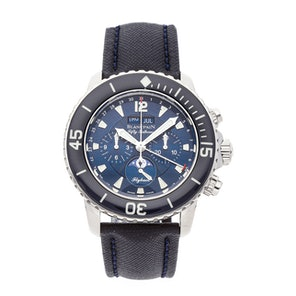 Blancpain Fifty Fathoms Chronograph Flyback Quantieme Complete Calendar 5066F-1140-52B